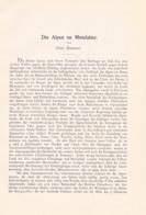 638 Ramsauer Alpen Im Mittelalter Artikel Von 1902 !! - 2. Middle Ages