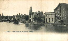 BOOM   Embarcadere Et Moulin Rypens Bélgica Belgique - Boom