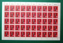 Bund 50er Bogen MiNr 442 Postfrisch Formnummer 2 (BW1616 - [7] Federal Republic