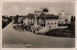 ! Alte Ansichtskarte Aus Belgrad, Beograd, Dedinje, Architecture - Serbia