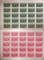(Fb).Marocco.1961-65.Lotto Di Serie In Fogli Completi Nuovi,gomma Integra,MNH (6 Scan)(185-187-283-288-289-290/15) - Marokko (1956-...)