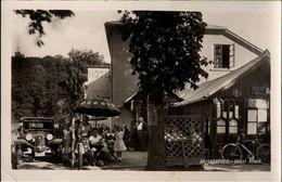 ! Alte Ansichtskarte Aus Bojkovice, Hotel Musil, Auto, 1944 - Repubblica Ceca