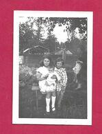 PHOTO 9 X 6,5 Cm Des Années 1930..ENFANTS..Fonds Photographique BOURGAULT à FLERS (Orne 61) - Personnes Anonymes