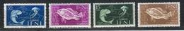 IFNI - Série N°73/76 Thème Poisson - Neuve Sans Chanière - 1953 - Ifni