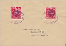 Fredersdorf Sondermarken F909-F910 Umschlag Gefälligkeits-O 16.8.45, Altsignatur - Unclassified