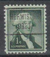 USA Precancel Vorausentwertung Preo, Locals Oregon, Hermiston 721 - Estados Unidos