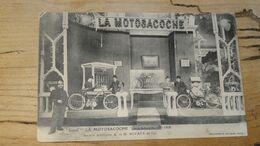 La MOTOSACOCHE Au Salon De 1907-1908  …………………..OS-5292 - Moto