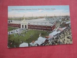 Live Stock Building   Canadian National Exhibition  Canada > Ontario >  Ref 4237 - Toronto
