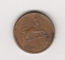1 SANTEEM 1944 CUIVRE - Etiopía