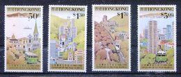 Hong Kong 1988 536-39 Centenario Dei Tram Mnh - Unused Stamps