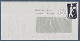 Cécogramme Enveloppe En Franchise Pour Les Aveugles 28.10.2019 - Marcophilie (Lettres)
