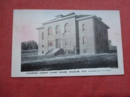 Converse County Court House Douglas  Wyoming >      Ref 4237 - Etats-Unis