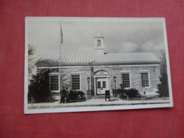 RPPC  Post Office  Crossville Tennessee      Ref 4237 - Autres