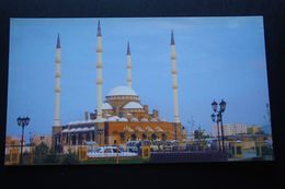 Russia. Chechen Republic - Chechnya. Groznyi Capital, Kadyrov Mosque - Modern Postcard 2000s - Tchétchénie