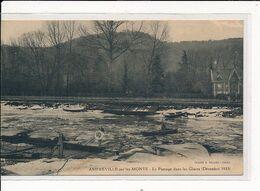 AMFREVILLE-sur-les-MONTS : Le Passage Dans Les Glaces (Décembre 1933) - Très Bon état - Autres Communes