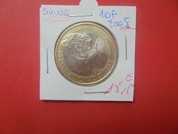 COMMEMORATIVE-SUISSE 10 FRANCS 2008 QUALITE FDC (A.14) - Suisse