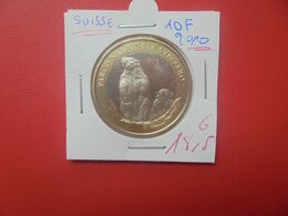 COMMEMORATIVE-SUISSE 10 FRANCS 2010 QUALITE FDC (A.14) - Suisse