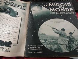 MIROIR 31 / FLANDIN MAROC HURE /CORSE BANDITISME /SAINT EXUPERY/JOSEPHINE BAKER - 1900 - 1949