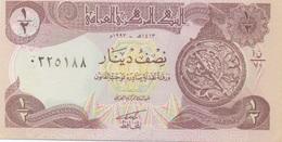 Irak Iraq : 1/2 Dinar 1993 UNC (mais Mauvaise Qualité D'imprimerie, Peut-être Fictif ?) - Iraq