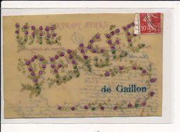 GAILLON : Carte Souvenir - Très Bon état - Autres Communes