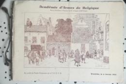 PROGRAMME 6 FEVRIER 1932 - ACADEMIE D'ARMES DE BELGIQUE BRUXELLES - RESULTAT DES MATCH - ESCRIME - Escrime
