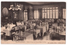 Salies-de-Béarn - Salle à Manger Du Grand Hôtel Du Parc - édit. Mlle Landreau  + Verso - Salies De Bearn