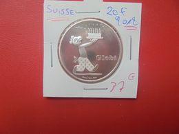 COMMEMORATIVE-SUISSE 20 FRANCS ARGENT 2012 QUALITE FDC (A.14) - Suisse