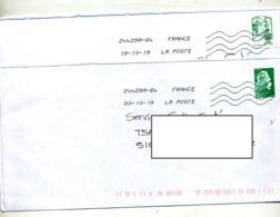 Lettre Flamme Chiffrée Sous Code 64 Curiosité - Marcofilia (sobres)