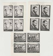 PERSONAGGI STORICI MARTIN LUTHER KING..N,3X4,VAL,MANAMA 1974. - Martin Luther King