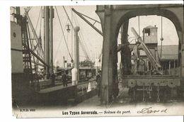CPA-Carte Postale-Belgique-Anvers-Scène De Port Au Début 1900-VM19182 - Antwerpen