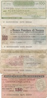 Italie : Lot De 4 Chèques De Banques Régionales ? 1976-1977 (très Mauvais état) - [ 4] Emissioni Provvisorie