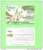 NICARAGUA - Chip Phonecard/National Flower - Nicaragua