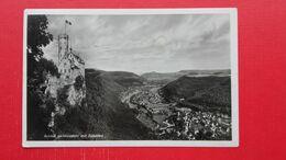 Schloss Lichtenstein Mit Echaztal.Zug Post 3327? - Reutlingen