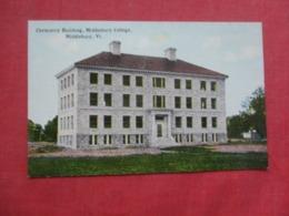 Chemistry Building Middlebury College  Middlebury  Vermont >     Ref 4238 - Etats-Unis