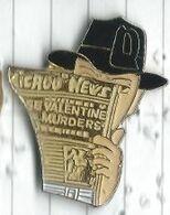 Chigago News Valentine's Murder Journal Détective - Medien