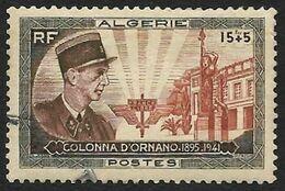 ALGERIE 1951 - YT   286  - Colonna D'Ornano  - Oblitéré - Algeria (1924-1962)
