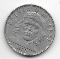 *cuba 3 Pesos 1990  Km 346 - Cuba