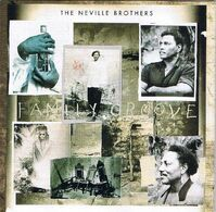 """THE NEVILLE BROTHERS. """"Famly Groove"""" (1992). + Concert Ticket. Like New. ORIGINAL. - Rock"""