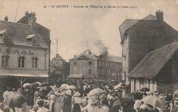 Le Crotoy Incendie 1915 - Le Crotoy