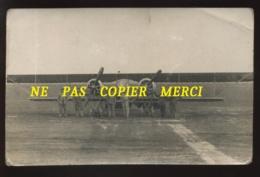AVIATION - GUERRE 14/18 - AVION CAUDRON G4 - CARTE PHOTO ORIGINALE - 1914-1918: 1a Guerra