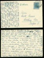 14544 DR Firmen  Karte Göbel Köln Sülz - Marburg 1920 - Brieven En Documenten