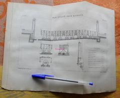 Plan Incliné Pour Bateaux  - 1885 - Obras Públicas