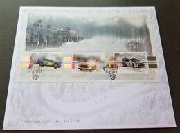 Norway Motorsport 2007 Sport Car Racing Winter Champion (FDC) *silver Foil *unusual - Norwegen