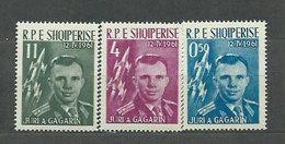 Albania Correo 1962 Yvert 564/6 Mnh ** Personajes - Albanien