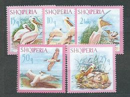 Albania Correo 1967 Yvert 962/6 Mnh ** Animales Aves - Albanien