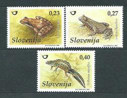 Eslovenia - Correo 2008 Yvert 622/4 ** Mnh Fauna - Slowenien