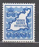Guernsey - Correo 1990 Yvert 484 ** Mnh Mapa - Guernsey