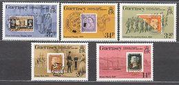 Guernsey - Correo 1990 Yvert 489/93 ** Mnh Primer Sello - Guernsey