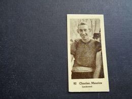 Chromo ( 1488 ) ( 5 X 2,50 Cm )  Cycliste  Coureur  Wielrenner  Renner  Cycliste : Maurice Clautier  Londerzeel - Cycling
