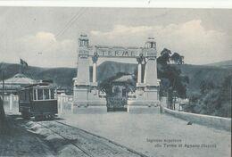 Cartolina - Postcard / Non Viaggiata - Unsent /  Napoli - Ingresso Superiore Terme Di Agnano. - Napoli (Naples)